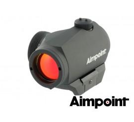 AIMPOINT MICRO H-1 2MOA MONTURAS WEAVER