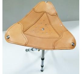 Silla Plegable con asiento de piel