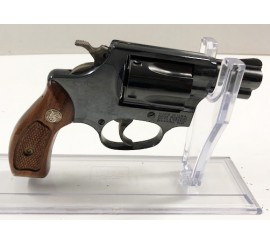 "REVOLVER SMITH WESSON 2"" PAVONADO CAL. 38 SPCL"