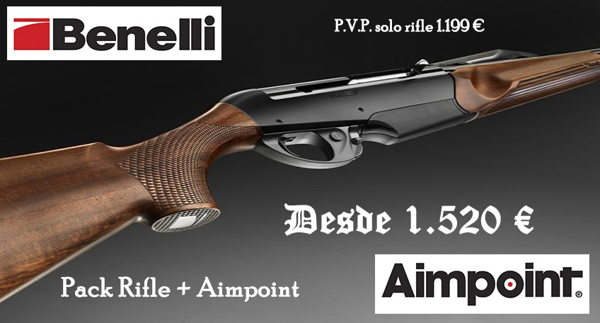 PACK BENELLI ARGO+AIMPOINT